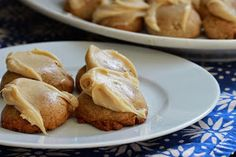 Cardamom Spice Cookies with Caramel Cream Cheese Frosting