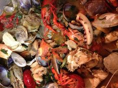 """Another version of """"Ocean,"""" a Laotian seafood dish."""