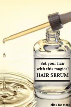 Use this hair serum on your hair daily to make them super silky and manageable - #DAILY #Hair #manageable #serum #silky #super Homemade Hair Serum, Diy Hair Serum, Best Hair Serum, Best Serum, Frizz Free Hair, Hair Frizz, Natural Hair Serum, Overnight Hair Growth, Overnight Hairstyles
