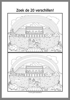 Noah s ark Winter Crafts For Toddlers, Bible Crafts For Kids, Cain Y Abel, Bible Heroes, Bible Coloring Pages, Bible Activities, Church Crafts, Sunday School Crafts, Kids Church