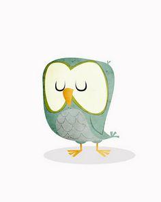 Adam Record: Walter the Night Owl  #cute #owl #illustration