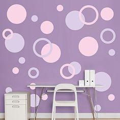 Lavender & Pink Polka Dots