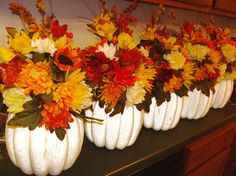 fall decor,pumpkins, leaves :  wedding fall leaves pumpkin 258517