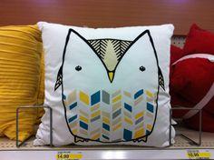 Owl pillow!