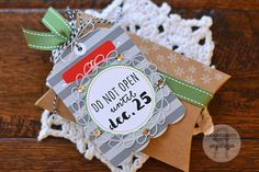 Pickled Paper Designs: Countdown to Confetti: Gift Card Holder Tag, Hang Ups, With Love, Alphabetical