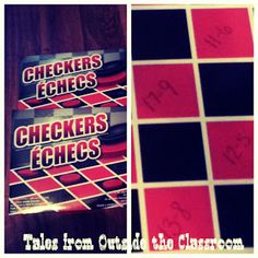 Use checkers to prac