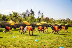 CrossFit, Parque Bicentenario. Clases gratuitas a las 9 y 10 am.