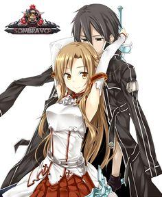 Render Sword Art Online - Renders Sword Art Online Kirito Asuna