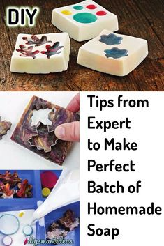 Melt and pour soap making is easy, anyway to make perfect not an easy task for beginners. With the help of these useful tips and troubleshooting guide, you absolutely can make perfect melt and pour soap without difficulty Diy Easy Soap Making, Easy Diy, Soap Melt And Pour, Soap Base, Best Soap, Home Made Soap, Easy Crafts, Helpful Hints, The Help