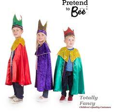 Childs King Wise Man Men Set of 3 Nativity Christmas Fancy Dress Costumes 3-7 yr  sc 1 st  Pinterest & shepherd nativity costume | Costumes | Pinterest | Nativity costumes ...