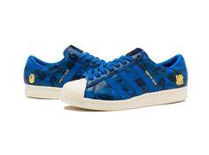 huge selection of 31d17 02d77 UNDEFEATED X BAPE SUPERSTAR 80V - BLUE CAMO Adidas Originals, Bape, Adidas  Superstar,