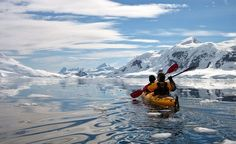 Glaciers in Antarctica and kayaking. Got to see them before they melt away Oh The Places You'll Go, Great Places, Beautiful Places, Canoe And Kayak, Fishing Canoe, Canoe Boat, Fishing Tips, Bass Fishing, Luxury Travel