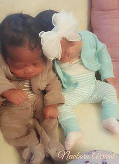 Robert Coleman III and Rhylan Tracy Coleman https://www.facebook.com/NewbornArrival/