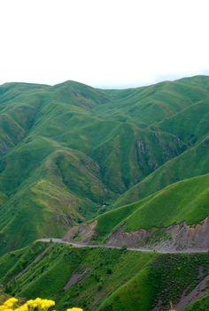 Beautiful #Kazakhstan #mountains!