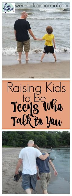 The teen years don't have to be hard! Start when your kids are young to set the foundation to have awesome teens who talk to you!