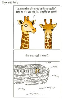 Funny Cards - Wouldn't Date Me If I Was The Last Giraffe On Earth