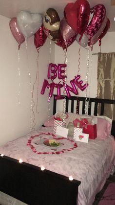 Romantic Valentine's Day surprise for him