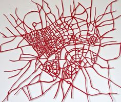 Susan Stockwell - Red Road Arteries - Courtesy of TAG Fine Arts
