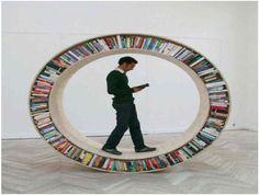 Round Bookshelf-Coolest Bookshelves