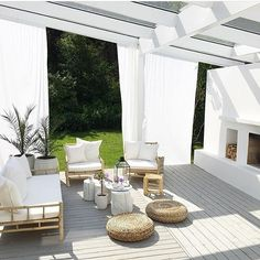 Wonderful space for a moment of rest. Bamboo furniture from tinekhome. Styled by @sonja_ols