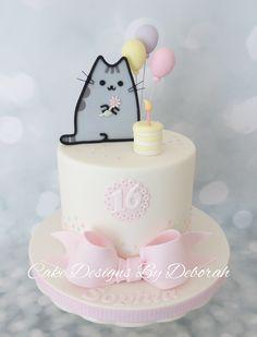 Pusheen Birthday Celebration Made by : Cake Designs By Deborah