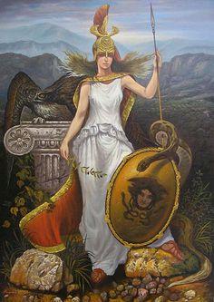 Athena Goddess of Wisdom | huns harold mcneill solar knight alexander uglanov goddess of wisdom