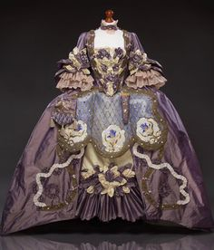 Rococo Fashion, Victorian Fashion, Vintage Fashion, Historical Costume, Historical Clothing, Historical Dress, Rococo Dress, 1920s Dress, Vintage Dresses
