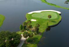 Golf course at TPC Prestancia, Sarasota, FL #playgolfsarasota