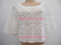 Resultado de imagem para blusas de croche verão 2013