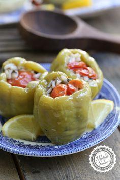 Zeytinyağlı Biber Dolması - Mutfak Sırları