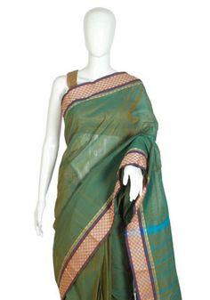 Chettinad Handloom Cotton Saree Design 25