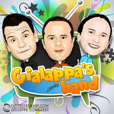 FattiDisegnare.com: Gialappa's band
