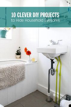 10 Clever DIY Projects to Hide Household Eyesores
