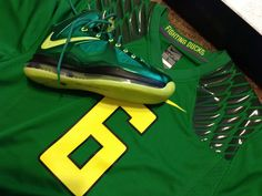 Nike LeBron X iD Oregon Ducks by RANDZ #sofresh