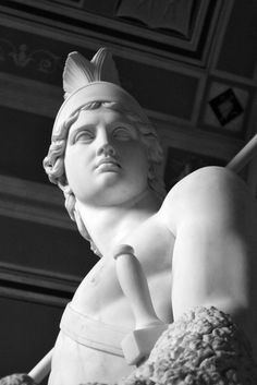 Marble sculpture by Bertel Thorvaldsen, 1802-03. Copenhagen: Thorvaldsens Museum.