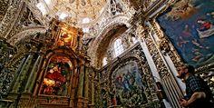 Capilla del Rosario en el Templo de Santo Domingo, Puebla./ Ernesto Polo
