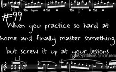 Pianist Problems || Violinist problems, too! :)