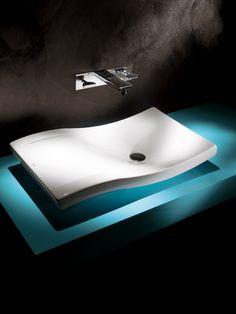 'Roca' modern and sleek affect  http://www.uk.roca.com/