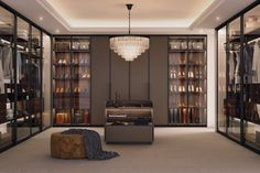 Apartment Therapy, Walk In Wardrobe Design, Dressing Room Design, Dressing Area, Master Bedroom Bathroom, Kitchen Dining Living, Common Area, Wardrobes, Decoration