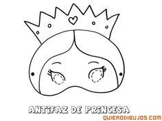 Antifaz princesa