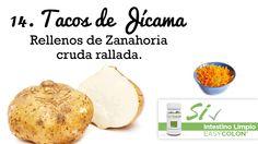 22 Snacks Saludables, Tacos de Jícama