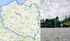 Przejechała rowerem 3551 km dookoła Polski! Jej trasa robi wrażenie