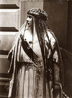 Queen Maria of Yugoslavia.
