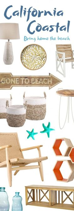 California Coastal Furniture & Décor | Up to 60% Off ==