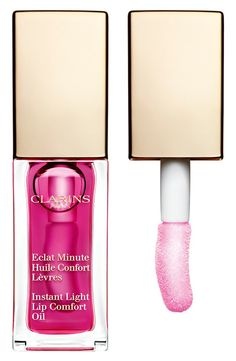 Clarins Spring 2015 Collection - Instant Light Lip Comfort Oil ($23.00) (Limited Edition) ◾Raspberry
