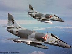 A brace of VF805 Black Knights.