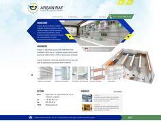 Arsan Raf | Web Tasarım Çalışması | Web Design