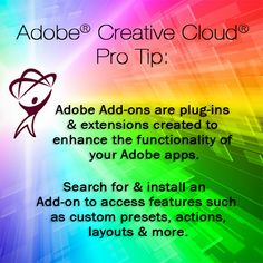 Learn how to download & install Add-ons from the pros at totaltraining.com. https://creative.adobe.com/addons #adobe #creativecloud #photoshop #illustrator #indesign #dreamweaver #premierepro #muse #aftereffects #lightroom