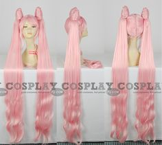 Chibiusa Wig (Black Lady) from Sailor Moon - Tailor-Made Cosplay Costume