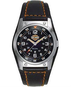 Harley Davidson Saat 76B31 Seçkin Markaların Ortak Noktası